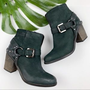 Matisse Harney Harness Ankle Boots Heels 6